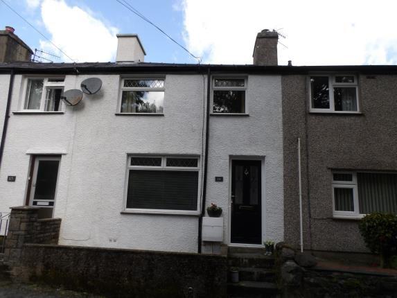 Thumbnail Terraced house for sale in Ceunant Street, Llanberis, Caernarfon, Gwynedd