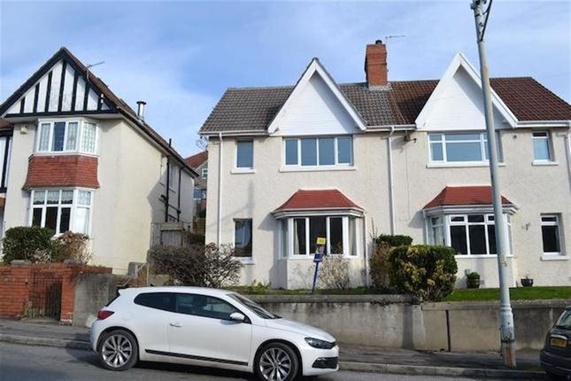 Thumbnail Property to rent in Eversley Road, Sketty, Swansea.