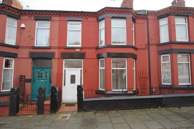 Thumbnail Terraced house for sale in Waring Avenue, Tranmere, Wirral
