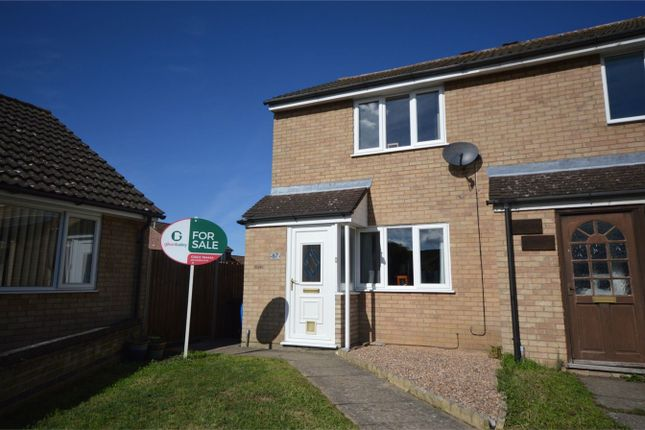 Thumbnail End terrace house for sale in Amderley Drive, Eaton, Norwich, Norfolk