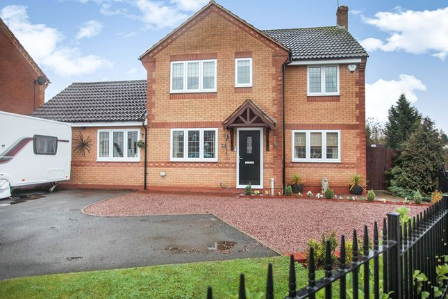 Thumbnail Detached house for sale in Bronze Close, Nuneaton, Warwickshire