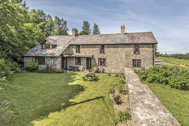 Thumbnail Commercial property for sale in St Harmon, Rhayader