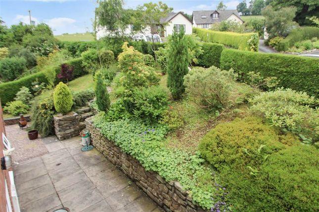 Side Garden of Llwyn Y Garth, Llanfyllin SY22