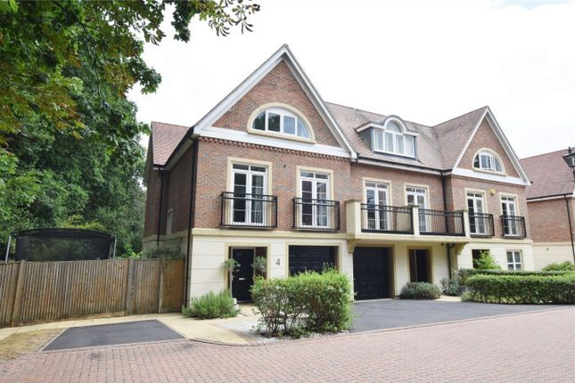 Thumbnail End terrace house to rent in Summerwood, Sunningdale, Ascot, Berkshire