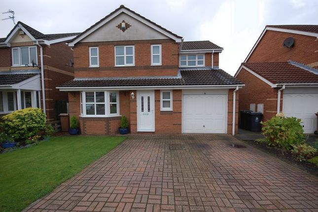 Thumbnail Detached house for sale in Woodlands Grange, Forest Hall, Newcastle Upon Tyne