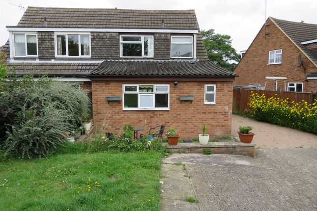 Thumbnail Semi-detached house for sale in Quantock Close, Bedford