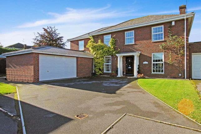Thumbnail Detached house for sale in Georgian Close, Abbeydale, Gloucester