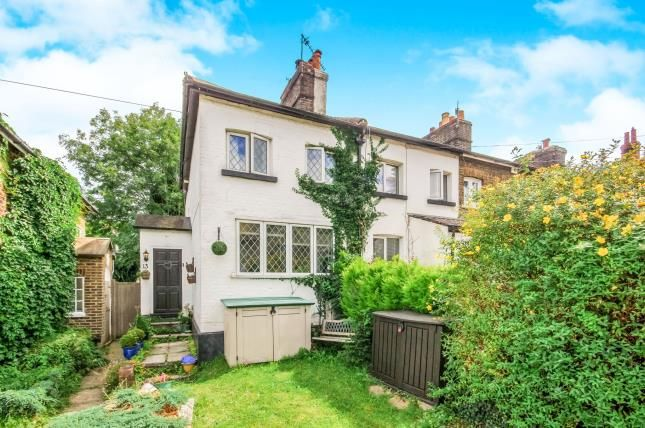 Thumbnail Semi-detached house for sale in Redstone Hill, Redhill, Surrey