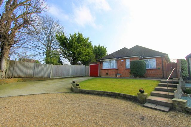 Thumbnail Detached bungalow for sale in Mount Way, Carshalton