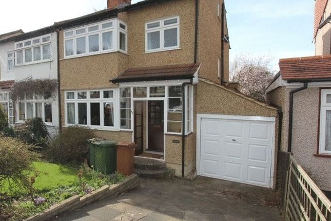 Thumbnail Semi-detached house for sale in Cambridge Road, Carshalton