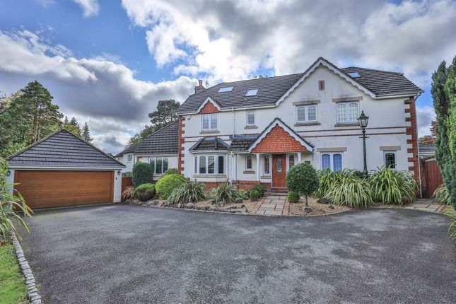 Detached house for sale in The Glade, Lisvane Road, Lisvane, Cardiff