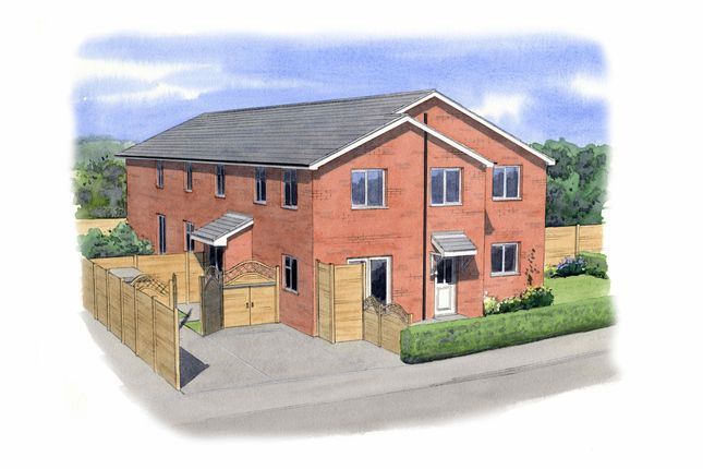 Thumbnail Link-detached house for sale in Maple Close, Stockport