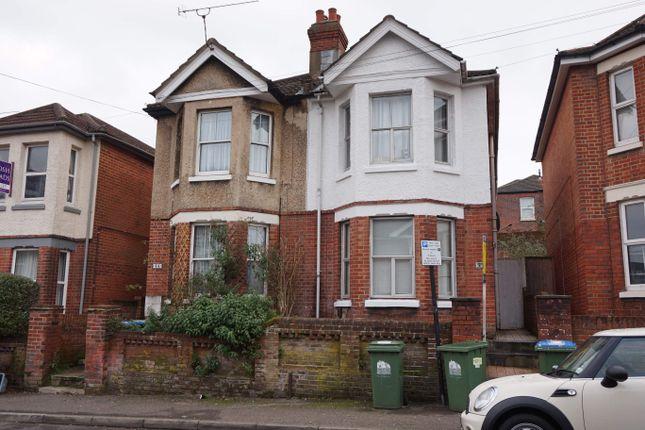 Thumbnail Town house to rent in Burlington Road, Southampton