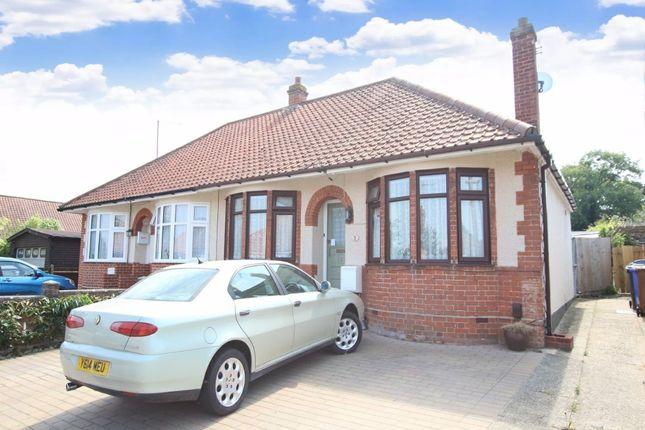 2 bed semi-detached bungalow for sale in Brockley Crescent, Ipswich, Suffolk IP1