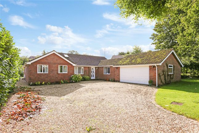Thumbnail Bungalow for sale in Aldbourne Road, Baydon, Marlborough, Wiltshire