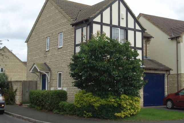 Thumbnail Detached house to rent in Wheatsheaf Drive, Bishops Cleeve, Cheltenham
