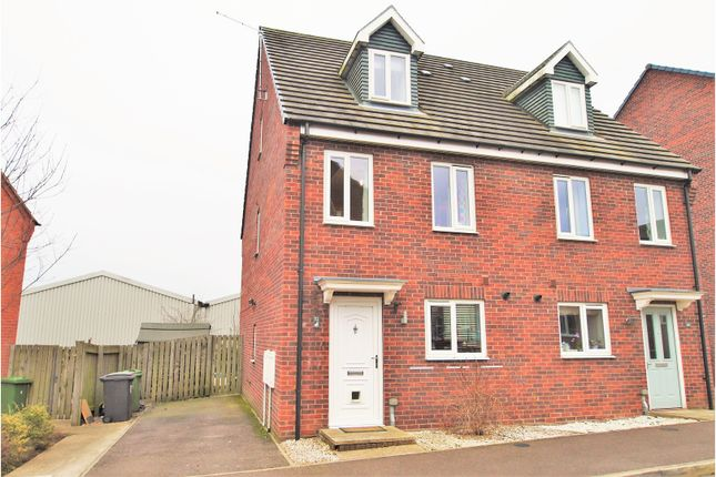 Thumbnail Semi-detached house for sale in Wylam Close, Clay Cross, Chesterfield