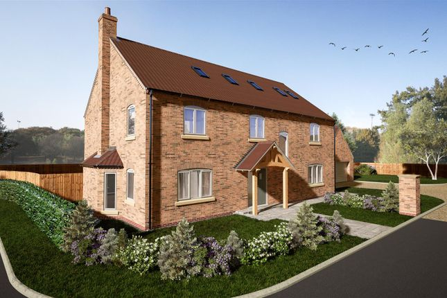 Thumbnail Detached house for sale in The Mulberrys, Plot 1, Orchard Way, Stow, Lincoln