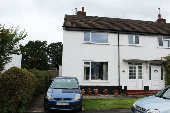 Thumbnail End terrace house for sale in Hampson Crescent, Handforth, Wilmslow, Cheshire