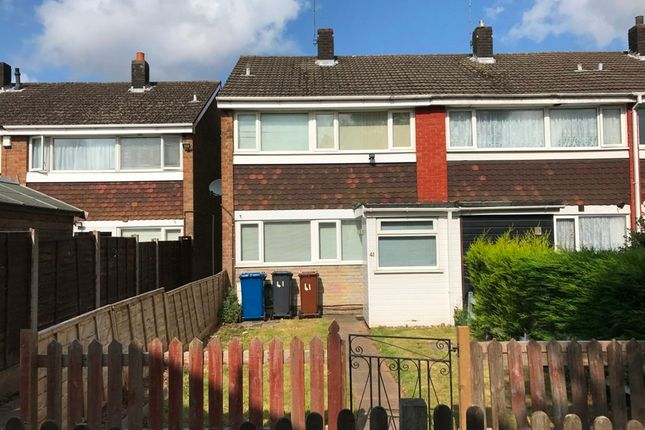 Thumbnail Terraced house to rent in Woodland Way, Burntwood
