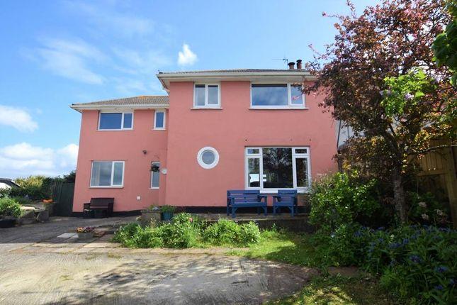 Thumbnail Semi-detached house for sale in Brixham Road, Paignton, Devon