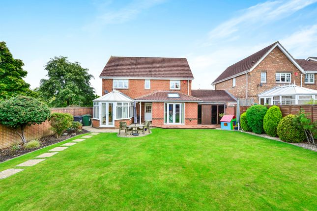 Thumbnail Detached house for sale in Willoughby Close, Westbury