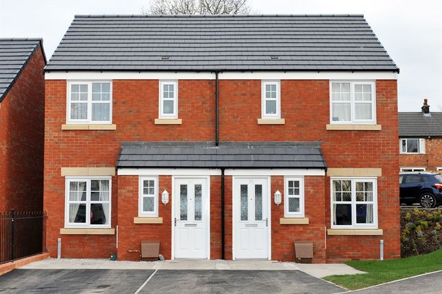 "Thumbnail Semi-detached house for sale in ""The Penrose"" at Went Meadows Close, Dearham, Maryport"