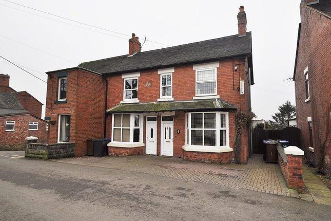 Thumbnail Semi-detached house for sale in Hazles Cross Road, Kingsley, Stoke-On-Trent ST102Ax