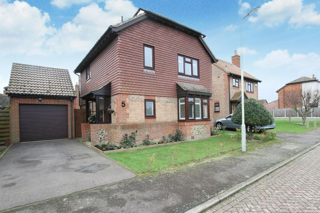 Thumbnail Detached house for sale in Woodcote, Chestfield, Whitstable