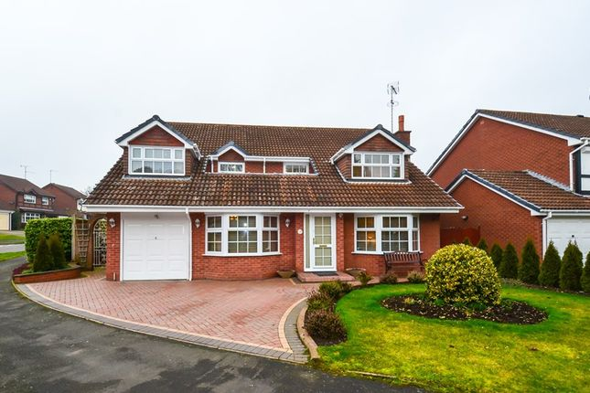 Thumbnail Detached house for sale in Fairways Drive, Blackwell, Bromsgrove