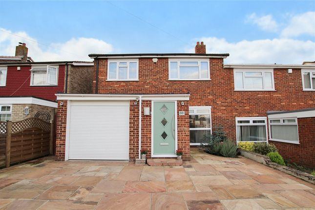 Thumbnail 4 bed semi-detached house for sale in Mungo Park Way, Orpington, Kent