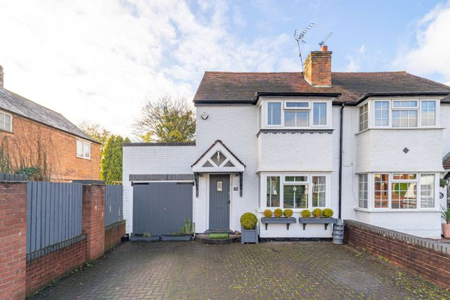 2 bed semi-detached house for sale in Longmore Road, Shirley, Solihull B90