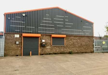 Commercial property to let in Hoylake Road, South Park Industrial Estate, Scunthorpe