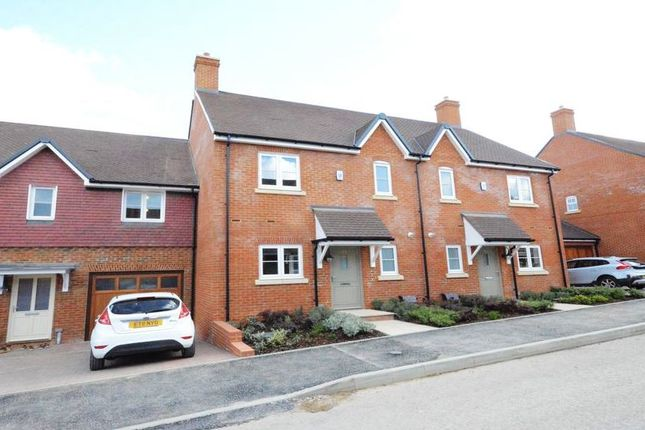 Thumbnail Terraced house to rent in Meadowsweet Lane, Woodhurst Park, Warfield