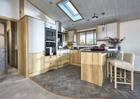 Thumbnail 3 bed lodge for sale in Christchurch Road, New Milton