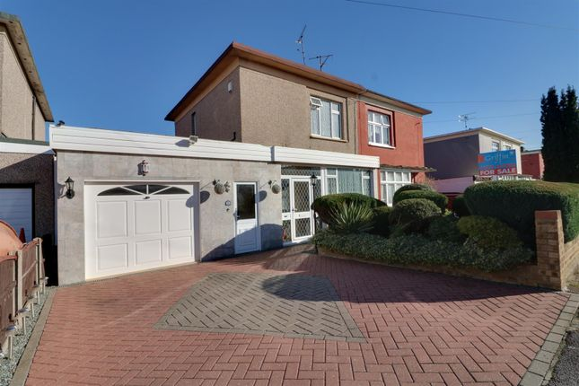 Thumbnail Semi-detached house for sale in King George Vi Avenue, East Tilbury, Tilbury