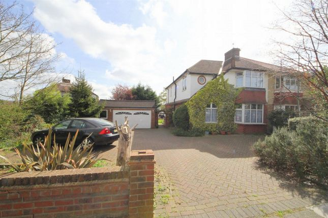 Thumbnail Semi-detached house for sale in Onslow Gardens, Grange Park, London