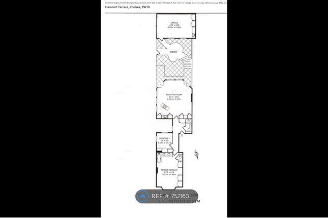 Floorplan of Harcourt Terrace, London SW10