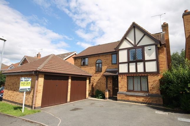 Thumbnail Detached house to rent in Stotfield Avenue, Warndon, Worcester