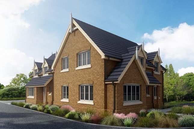 Thumbnail Semi-detached house for sale in Hardwick Court, Holme, Peterborough