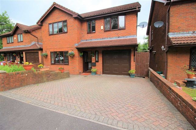 Thumbnail Detached house for sale in Bedw Farm Estate, Porth