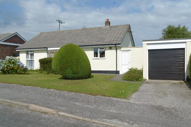 Thumbnail 3 bed detached bungalow for sale in Summer Lane Park, Pelynt, Looe