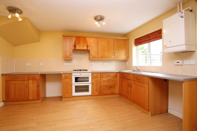 Thumbnail Town house to rent in Clement Drive, Peterborough