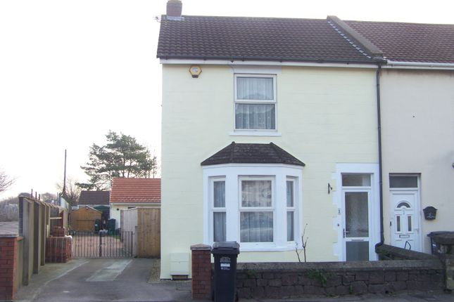 Thumbnail End terrace house to rent in Drove Road, Weston-Super-Mare