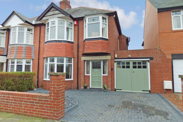 Thumbnail Semi-detached house for sale in The Avenue, Loansdean, Morpeth