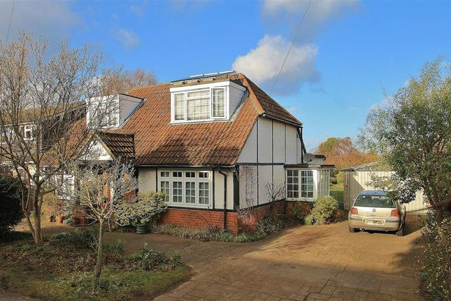 Thumbnail Detached house for sale in Manor Road, Ripley, Woking