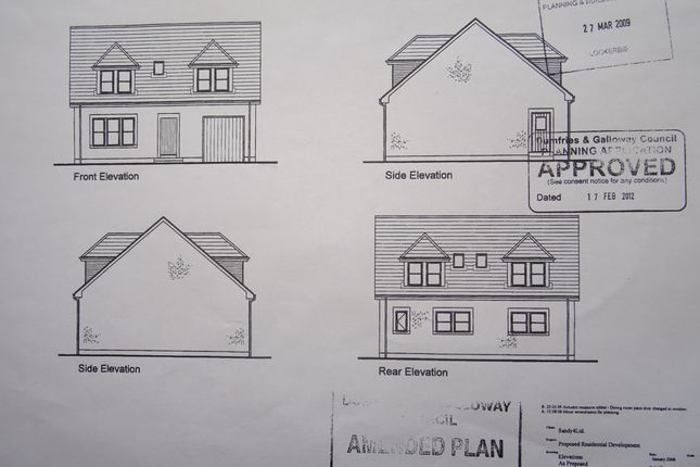 Building Plots, Land Adjacent To Windmore Green, Creca, By Annan DG12