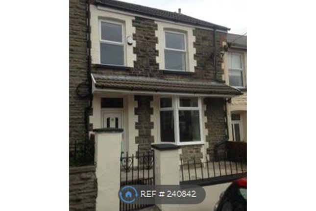 Thumbnail Terraced house to rent in Clyngwyn Road, Treorchy