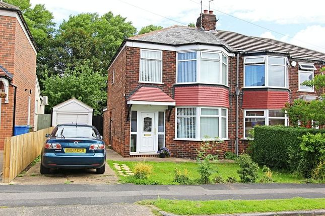 Thumbnail Semi-detached house for sale in Fairfield Avenue, Kirk Ella, Hull