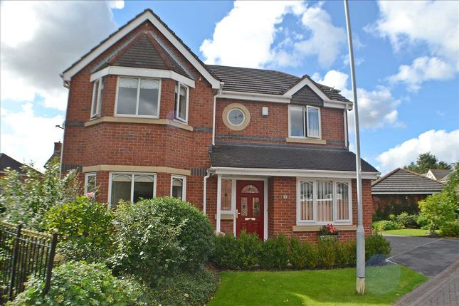 Thumbnail Detached house for sale in Lonsdale Close, Whittle Hall, Warrington
